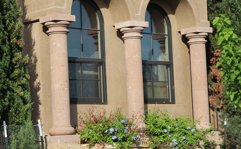 Custom Sandstone Columns