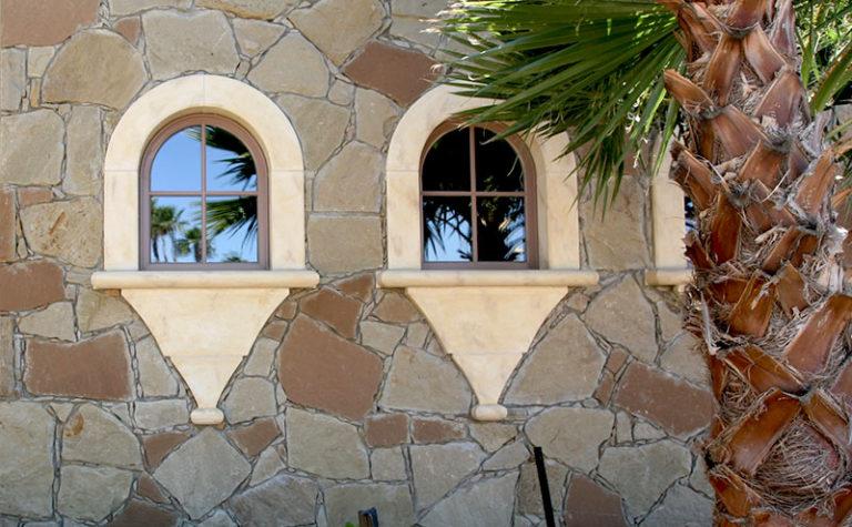CUSTOM SANDSTONE WINDOW SURROUND