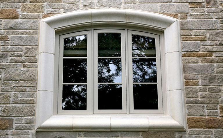 CUSTOM LIMESTONE WINDOW SURROUND
