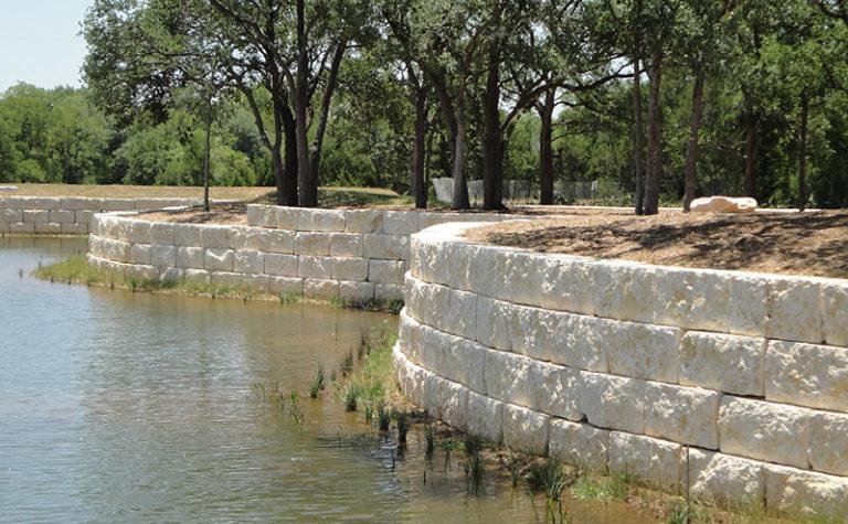 Limestone Retaining Boulders