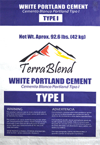 Terra Blend Type 1 White Portland Cement