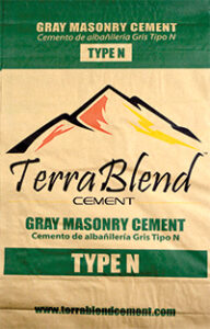 Terra Blend Type N Gray Masonry Cement