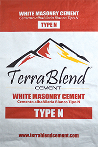 Terra Blend Type N White Masonry Cement
