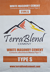 Terra Blend Type S White Masonry Cement